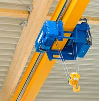 loadpins on a Overhead crane